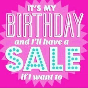 25% Off All Bundles! Birthday Sale!